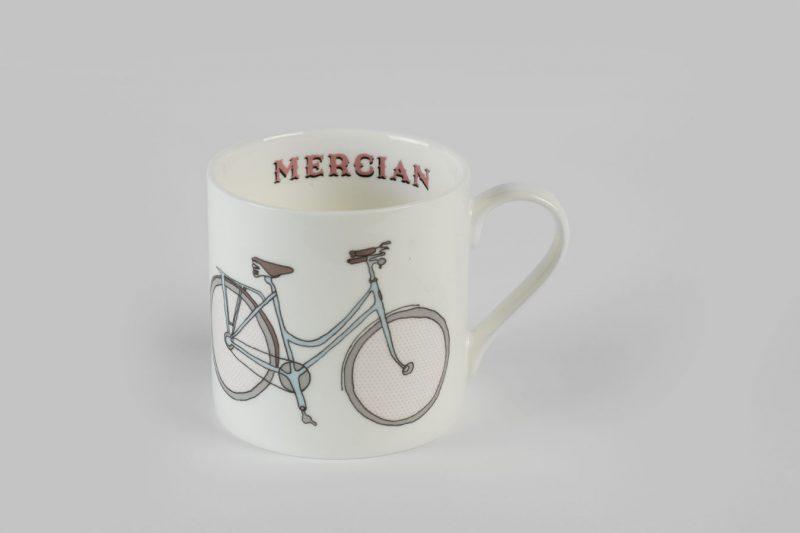 Mercian Ladies Bike Bone China Mug
