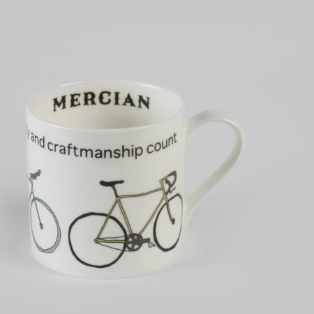 Mercian 3 Bike Bone China Mug
