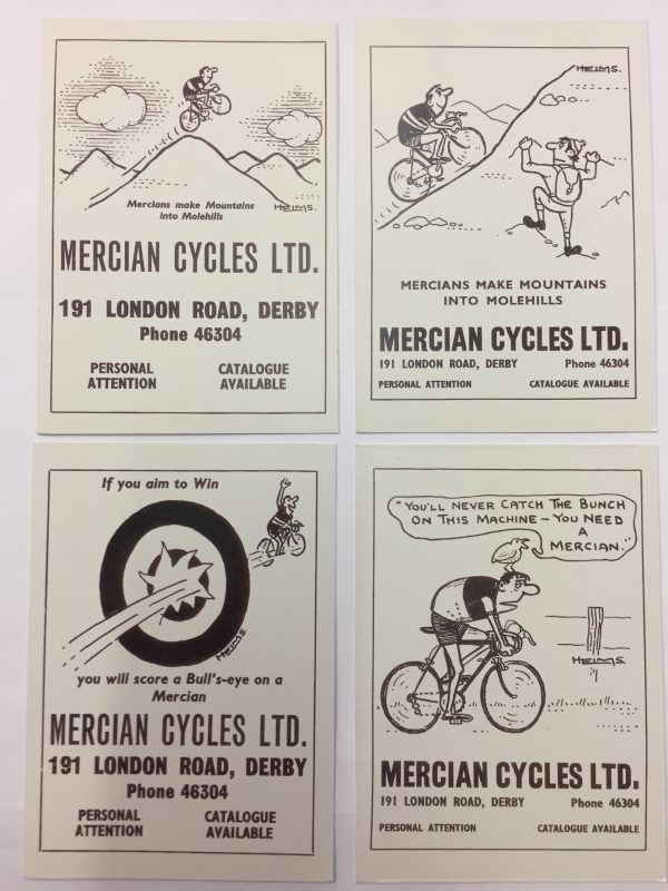 Mercian Post Cards