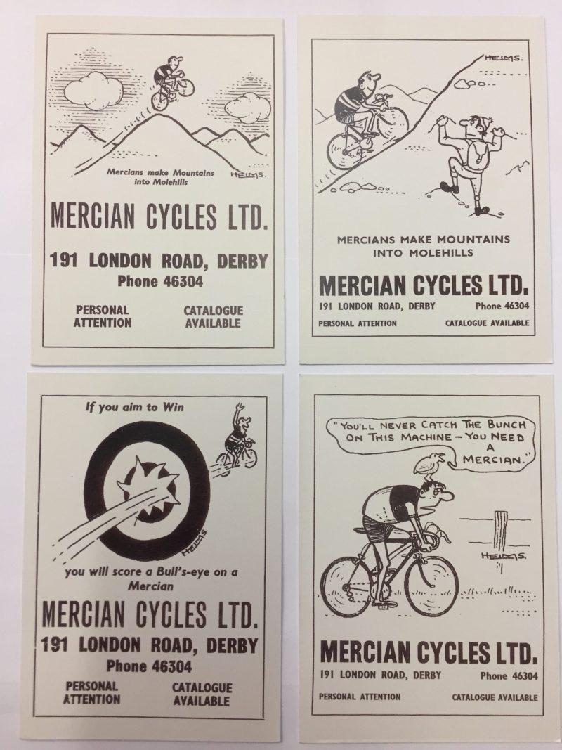Mercian Post Cards