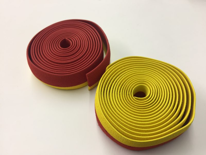 SOFT RUBBER UNDER TAPE