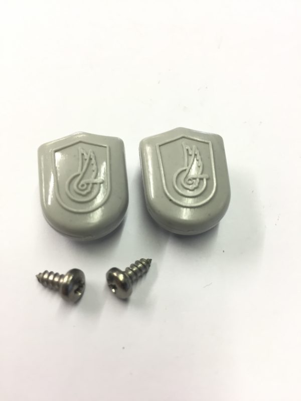 campag toe strap buttons ( light grey )