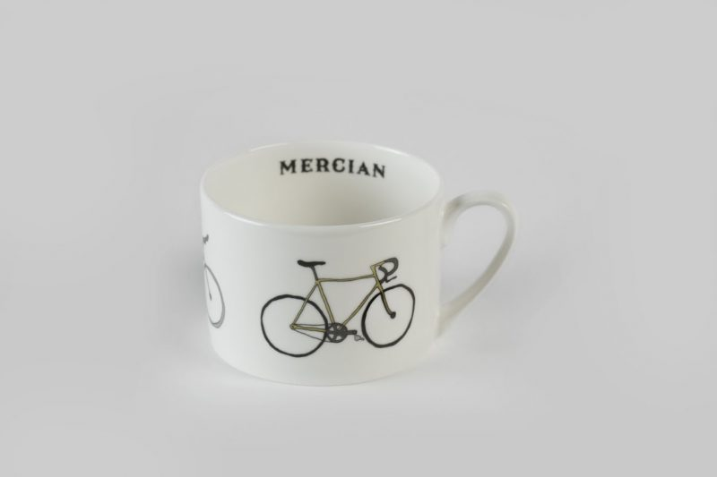 Mercian bone china cup and saucer